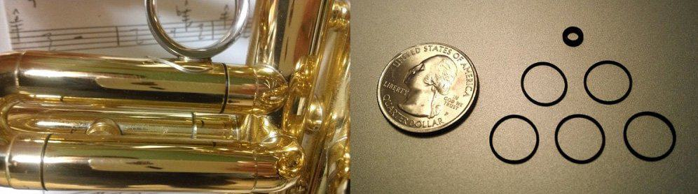 trumpet o-rings